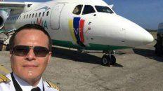 Mario Quiroga, el piloto y uno de los propietarios de la aerolínea siniestrada en Medellín.