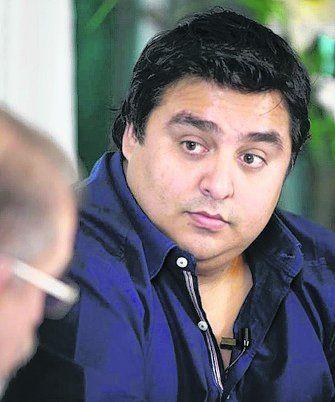 El periodista Rodrigo Villarreal.