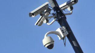 Desde el aire. Los dispositivos evaluados no consiguieron imágenes con buena resolución para poder confeccionar las multas.