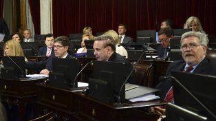 En escena. La bancada del FpV acompañó de forma crítica el presupuesto que envió el Poder Ejecutivo.