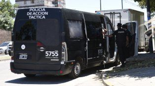 Saturacion. Tras la balacera llegaron al barrio numerosos policías.