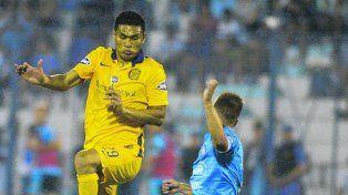 Salto colombiano. Teo Gutiérrez metió dos asistencias y fue la figura del partido.