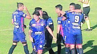 No alcanzó. El gol de cabeza de Cristian Godoy luego de una jugada preparada que significó el 1-1 parcial.