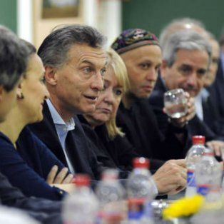 Macri, en reunión de gabinete.