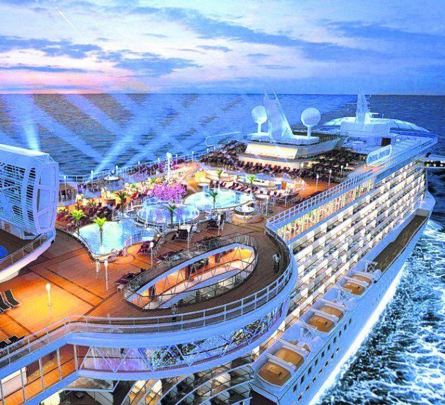 Montevideo y Río a bordo del Princess Cruises
