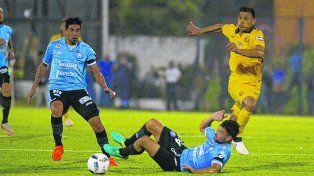 Fue la figura. El colombiano se destacó y participó en los dos goles ante Belgrano.