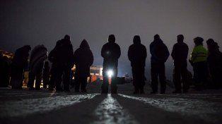 La lucha de los pueblos indígenas americanos por la instalación de un oleoducto en sus tierras