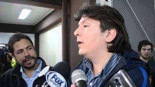 El vicepresidente de Rosario Central, Lucano Cefaratti.