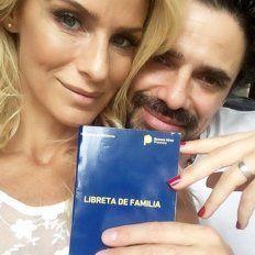Una de las imágenes que publicaron Sabrina Rojas y Luciano Castro.