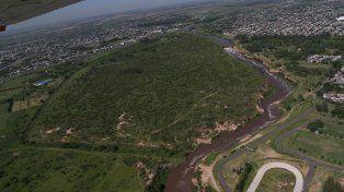 Reservorio único. El de Villa G. Gálvez es el último bosque nativo de esas dimensiones en todo el sur santafesino.