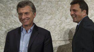 El líder del Frente Renovador valoró que Argentina haya vuelto al mundo.