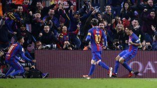 En un partido trabado, Real Madrid le empató al Barcelona sobre el final en el Camp Nou
