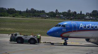El aeropuerto incorporó un nuevo remolcador para garantizar la operatoria y evitar demoras