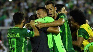 Chapecoense será consagrado campeón de la Copa Sudamericana 2016.
