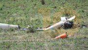El planeador se estrelló en un campo de Bolívar y el piloto falleció en el acto.