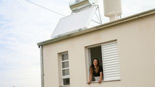 Ecológicos. Los calefones solares tienen una vida útil de 20 años.