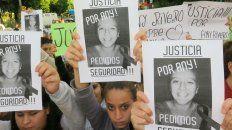 Reclamo. Se hicieron varias marchas pidiendo justicia por el crimen de Any.