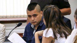 Condenado. Jonathan Olivera el día que estuvo en Tribunales para escuchar la condena que lo envió a prisión.
