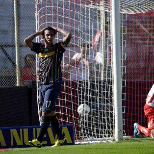 Herrera se lamenta por una de las ocasiones desperdiciadas ante Unión.