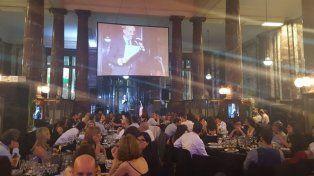 La cena de la UNR fue el jueves para celebrar los 48 años de la institución.
