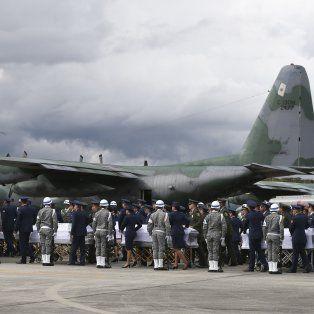 El sábado fueron repatriados 50 cuerpos a Brasil.