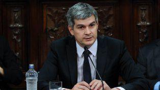 El jefe de Gabinete Marcos Peña.