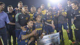 El equipo del Chacho Coudet se prepara para la final de la Copa Argentina que dispurará en Córdoba.