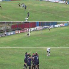 La secuencia del gol de arco a arco de Gonzalo Acevedo en la Primera C.