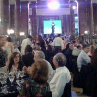La cena se realizó el sábado pasado en el salón del ECU.
