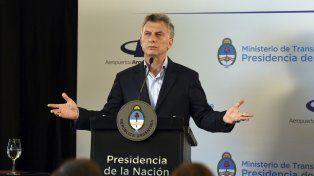 Macri aseguró que es una irresponsabilidad el acuerdo opositor por ganancias