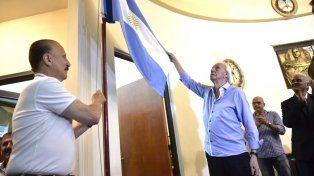 Menotti fue declarado deportista y técnico distinguido de Rosario por el Concejo Municipal