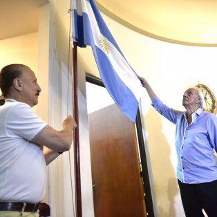 menotti fue declarado deportista y tecnico distinguido por el concejo municipal