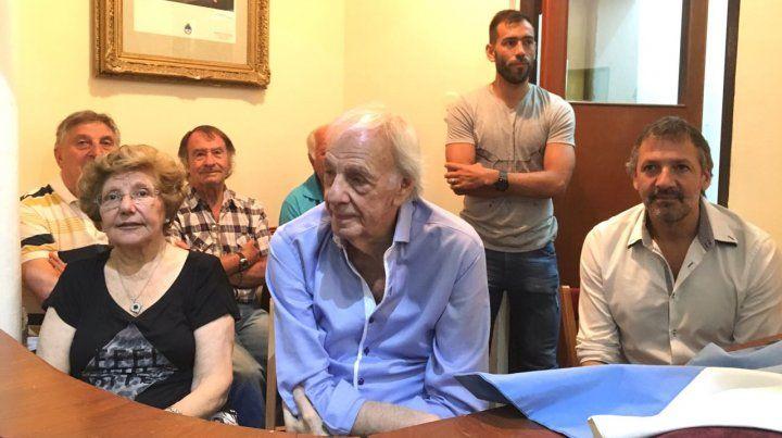 Menotti fue declarado deportista y técnico distinguido por el Concejo Municipal