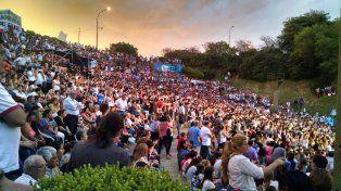 El Anfiteatro Humberto de Nito desbordó de público.