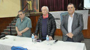 El senador nacional y cineasta Pino Solanas presentó el sábado pasado, en el Sindicato de Trabajadores Municipales de Rosario, el documental El Legado de Juan Perón.