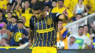 Talento.Teo Gutiérrez, que hizo un gran partido ante Belgrano, tiene contrato hasta juniode 2017.