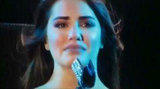 Lali publicó un video que muestra el momento de máxima emoción.