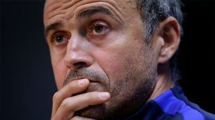 El entrenador planteó su interrogante respecto del futuro del rosarino en el club.