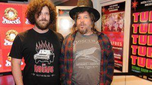 Recambio. Massacre, liderado por Wallas (derecha), es una de las figuras del rock que estaría presente en el festival.