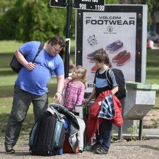 En familia. Así pasearon por los principales puntos de Rosario los visitantes que llegaron a lo largo del año.