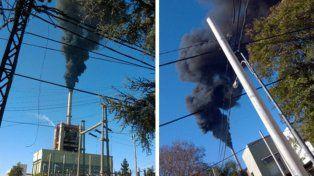 Chimenea. El humo es apenas uno de los elementos contaminantes.