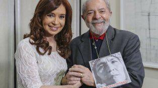Apoyo. Cristina y Lula pidieron por la libertad de Milagro Sala.