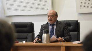 Camarista. Daniel Fernando Acosta presidió ayer la audiencia de revisión de las acusaciones por el fraude.