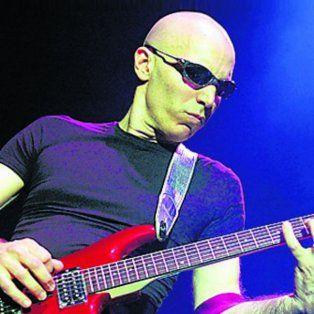 Satriani tocará el sábado en Rosario.