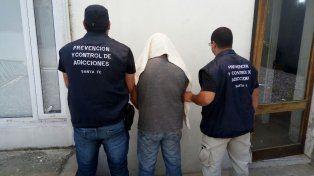 El hombre fue detenido esta mañana en la capital santafesina.