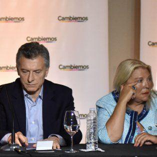Tándem. Macri y Carrió, la republicanista de Cambiemos.