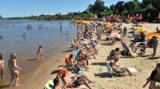 Sol y playa, ideal para disfrutar del domingo de diciembre.