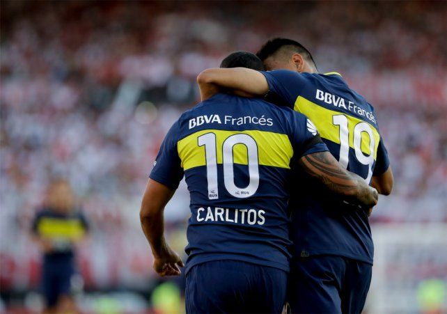 Boca ganó el clásico por 4 a 2 ante River