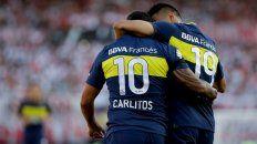 Carlos Tevez fue la figura de Boca con un doblete y Boca derrotó a River.