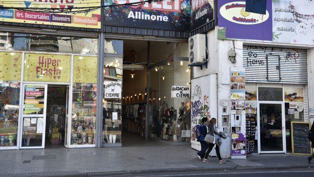 Comercios de calle San Luis.